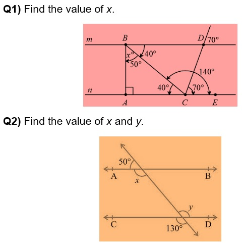 Maths class 9 Lines and Angles