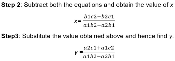 Maths class 10 Pair of Linear Equations in Two Variables