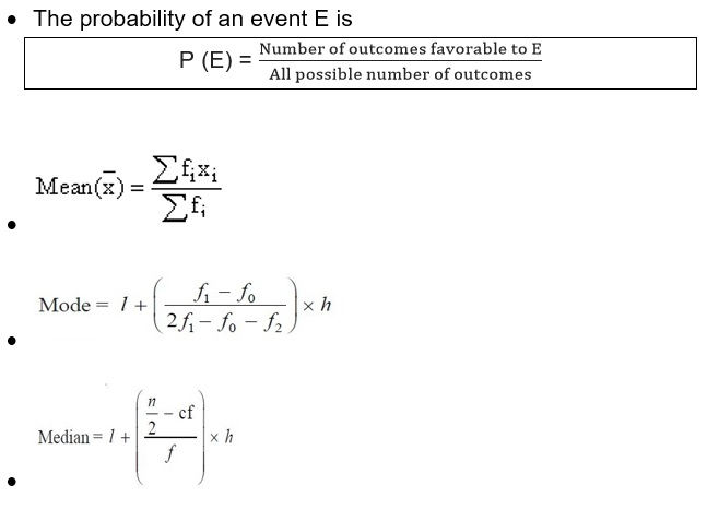 Maths class 10 Statistics and Probability