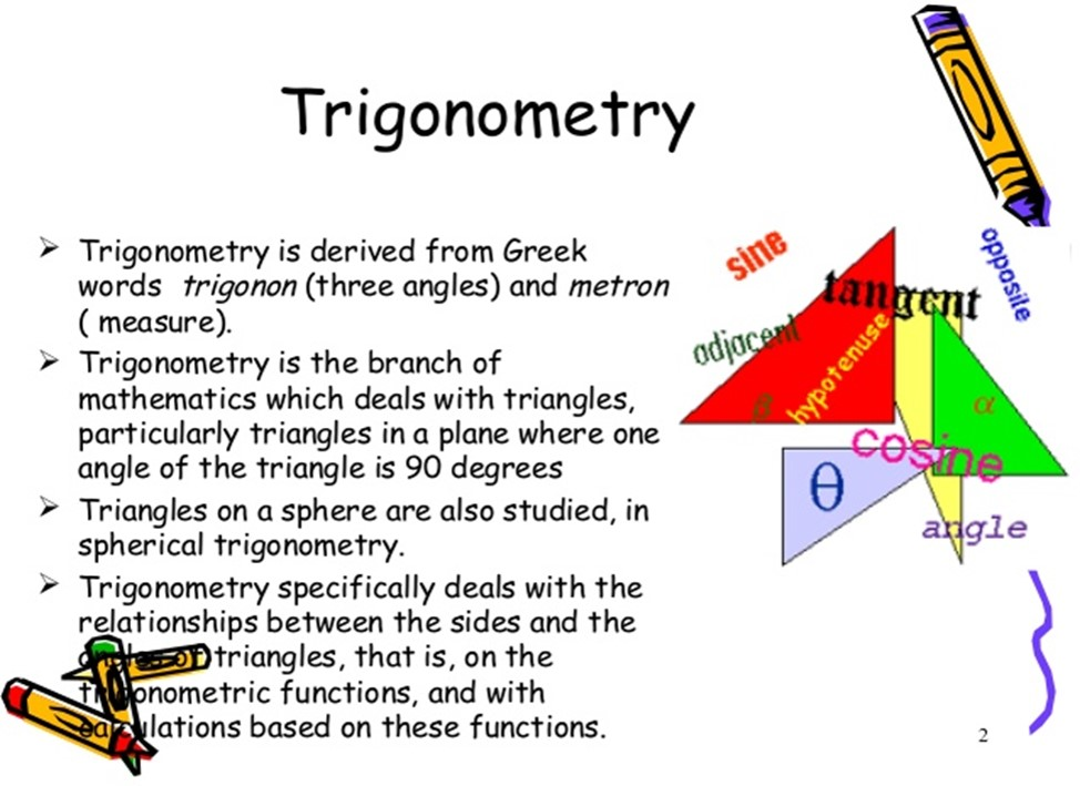 Maths class 10 Trigonometry