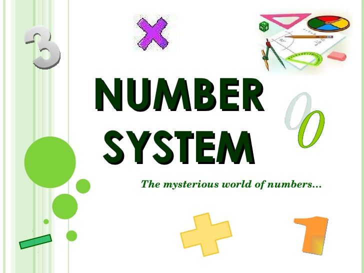 Number System and Integers