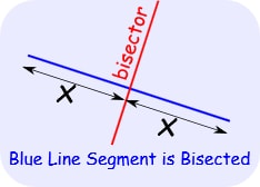 DEFINITION OF BISECT
