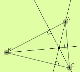 Definition of Orthocenter Image