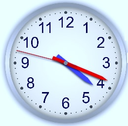 DEFINITION OF ANALOG CLOCK OR WATCH