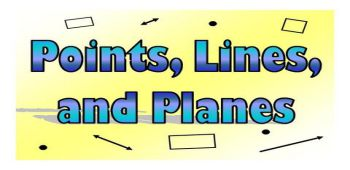 Point, Line and Plane Figures
